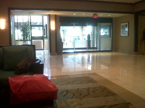Los Angeles Airport Marriott : entrada