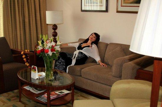 The Imperial Hotel: в номере