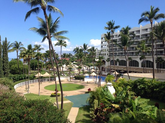 Fairmont Kea Lani, Maui: View from the lanai