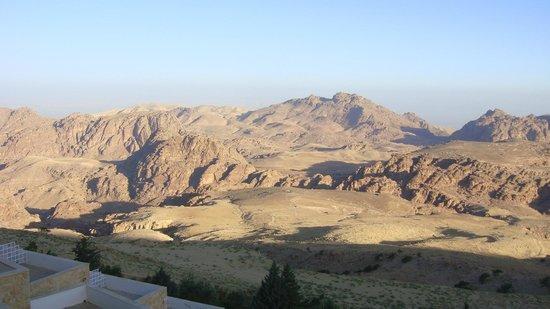 Petra Panorama Hotel : Vista de la habitación