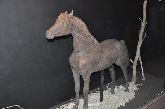 Havanna Museo del Chocolate: Escultura de chocolate - cavalo