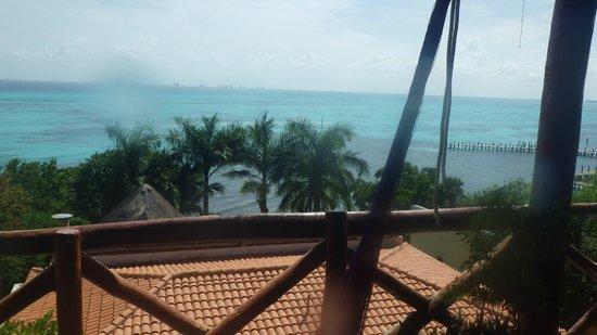 Hotel La Joya: Veranda view