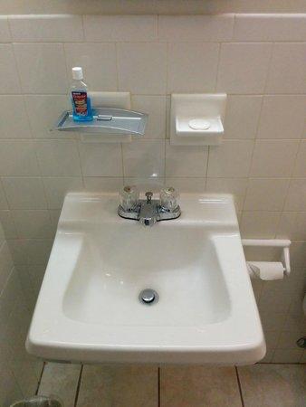 Americas Best Value Inn Palmyra/Hershey: Small Sink.