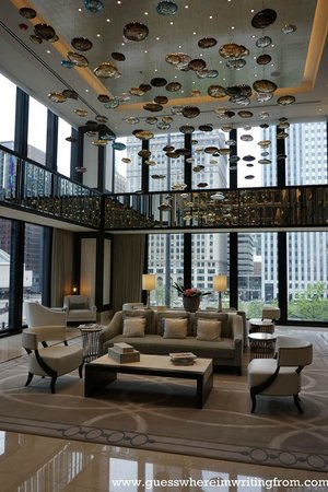 The Langham, Chicago: Hotel Lobby