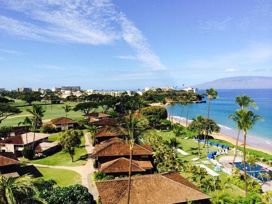 Royal Lahaina Resort: 窗外景觀
