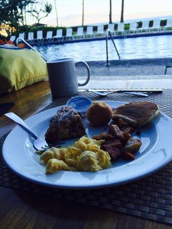 Royal Lahaina Resort: 早餐