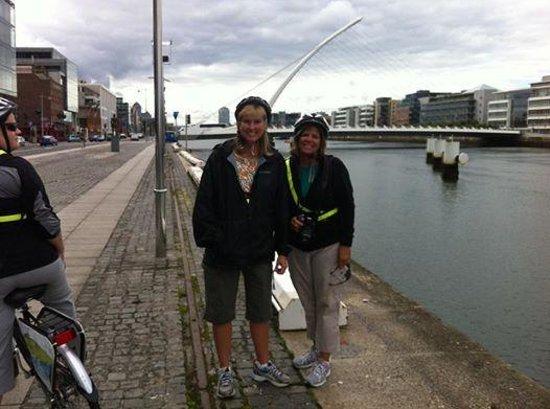 Dublin City Bike Tours: Fun near the river