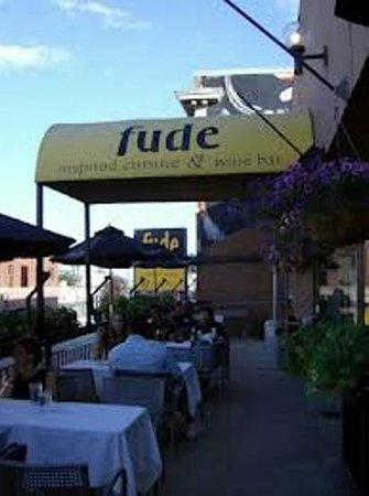 Fude Inspired Cuisine & Wine Bar: upper deck patio
