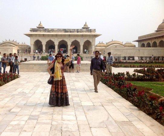 Fuerte de Agra: внутри форта
