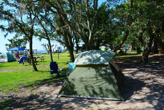 Frisco Woods Campground: site P59