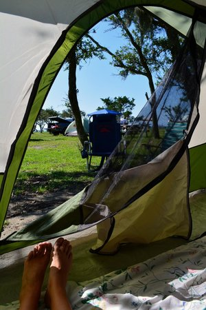 Pamlico Sound View Picture Of Frisco Woods Campground