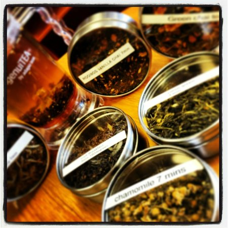 Cattle Dog Coffee Roasters: our a grade of loose leaf tea selection