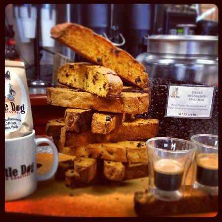 Cattle Dog Coffee Roasters: house made pasrties
