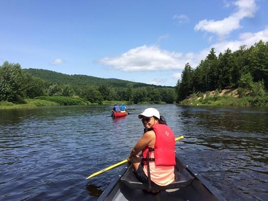 On the Androscoggin River with Bethel Outdoor Adventures