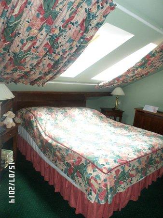 Hotel Liberty: наш номер Дуплекс: спальня на 2 этаже