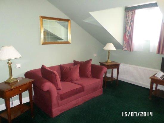 Hotel Liberty: наш номер Дуплекс: маленькая гостиная на 2 этаже
