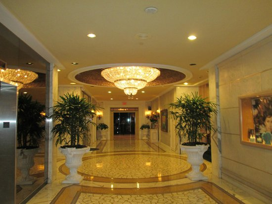 Miami Beach Resort and Spa: Hall frente a los ascensores