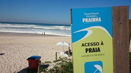 Prainha Beach: Entrada