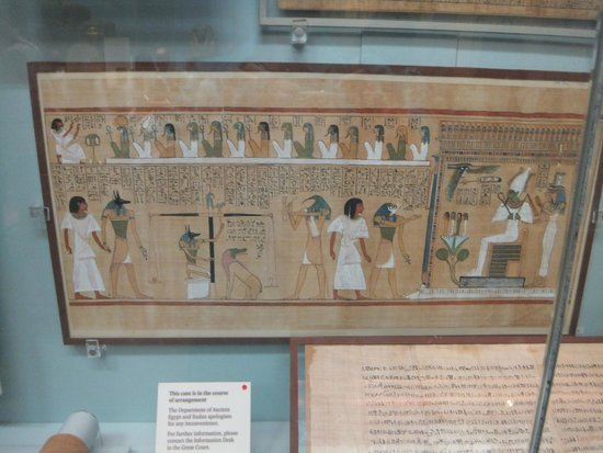 British Museum : Papyrus