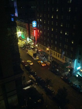 View From Room Picture Of Hilton Garden Inn Times Square New York City Tripadvisor
