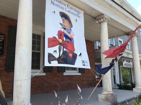 Henry Sheldon Museum of Vermont History: Banner