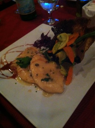 Giovanni's Cafe: Chicken Francaise &  Vegetables