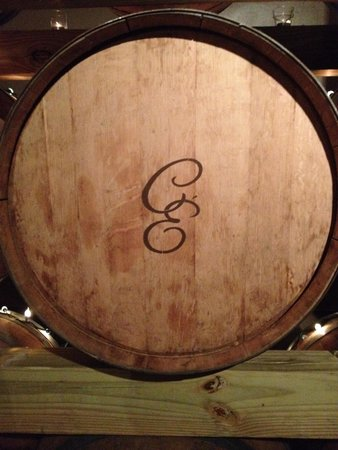 Chateau Elan Winery And Resort : nice initials