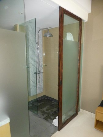 Ossotel: shower in room