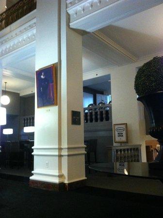 Lord Baltimore Hotel: saguão