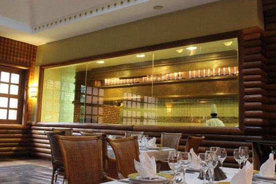 Iberostar Paraiso Maya: El Ranchero Steakhouse- flame grilled steaks