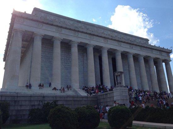 Piscina reflectante del monumento a Lincoln: Lincoln Memorial