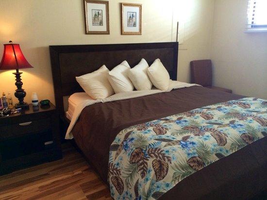 Meridian Plaza: Traditional Oceanview King 1205: Bedroom