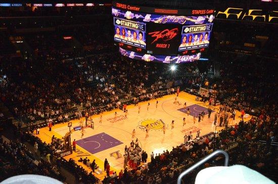 Staples Center: Lakers