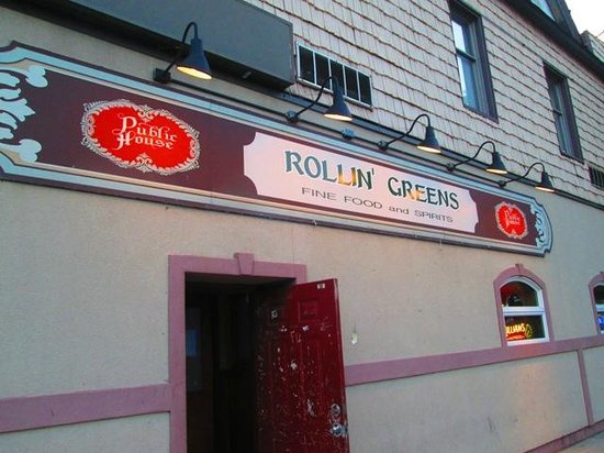 Rollin Greens : A Better view of the exterior art of Rollin' Greens