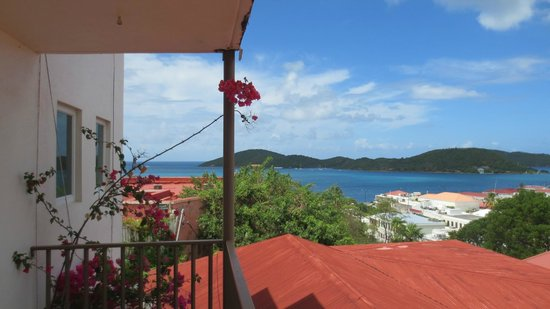 Galleon House Bed & Breakfast: View from Balcony