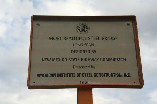 Rio Grande Gorge Bridge Sign