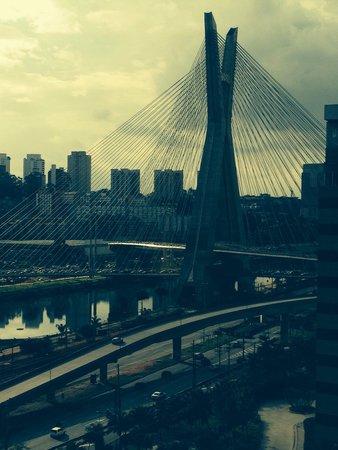 Grand Hyatt Sao Paulo: Vue de la chambre