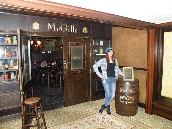 "McGills: ""It's grand"""