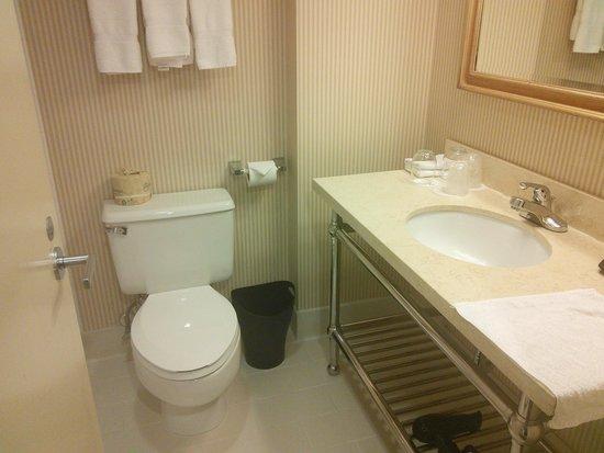 Sheraton LaGuardia East Hotel : bathroom