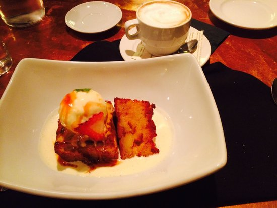 Brix Restaurant and Wine Bar : Lemon Curd Bread Pudding... Need I say more?!!!