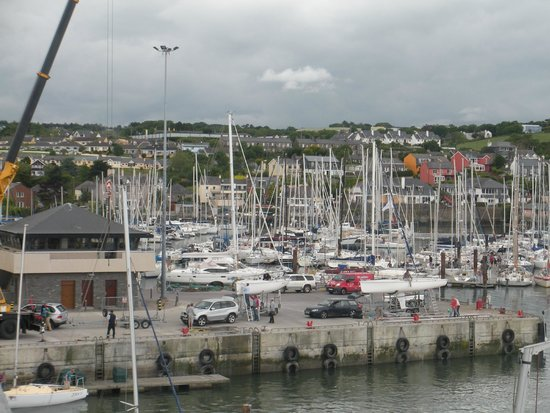 Trident Hotel Kinsale: View from a room