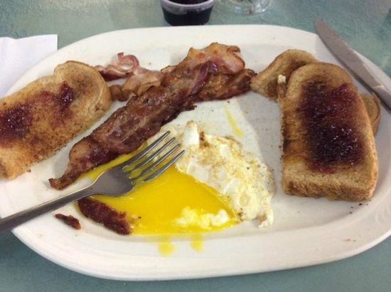 The Wooden Soldier: Bacon and eggs