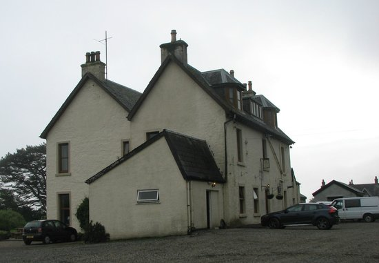 Kilchoan House Hotel from the outside