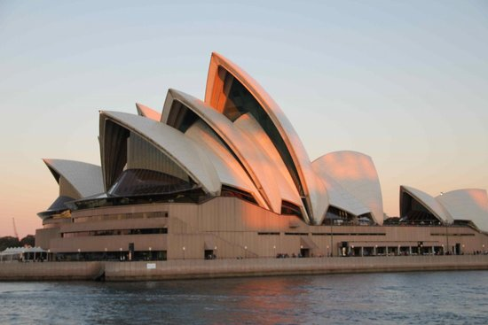 Park Hyatt Sydney: Opera House at sunset