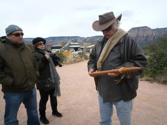 Earth Wisdom Jeep Tours: Larry's special flute