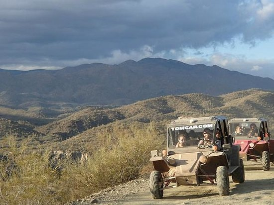 An amazing view on the tour - Desert Wolf Tours.