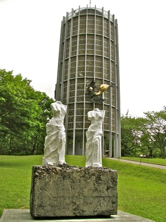 Symphonic sculpture tower - Picture of The Hakone Open-Air Museum, Hakone-mac...