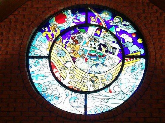 Fujishiro Seiji Museum: ステンドグラス