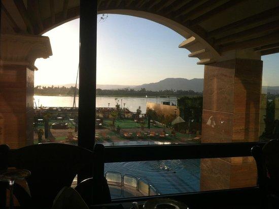 Sonesta St. George Hotel Luxor : Vista del restaurant
