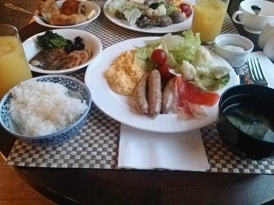 ANA Crowne Plaza Hiroshima: 朝食